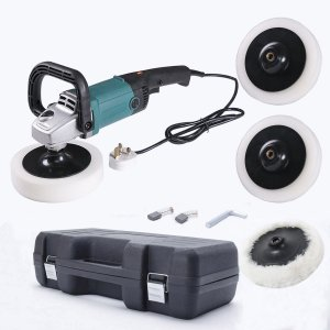 1400W Car Polishing Machine Polisher Buffer Sander Sponge Pad Se