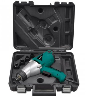 "Heavy Duty Electric Impact Wrench 1/2"" Drive and 4 Sockets 450NM"