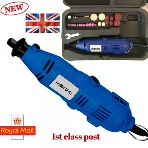 Details about 100pcs Hobby Mini Drill Grinder Set Electric 135