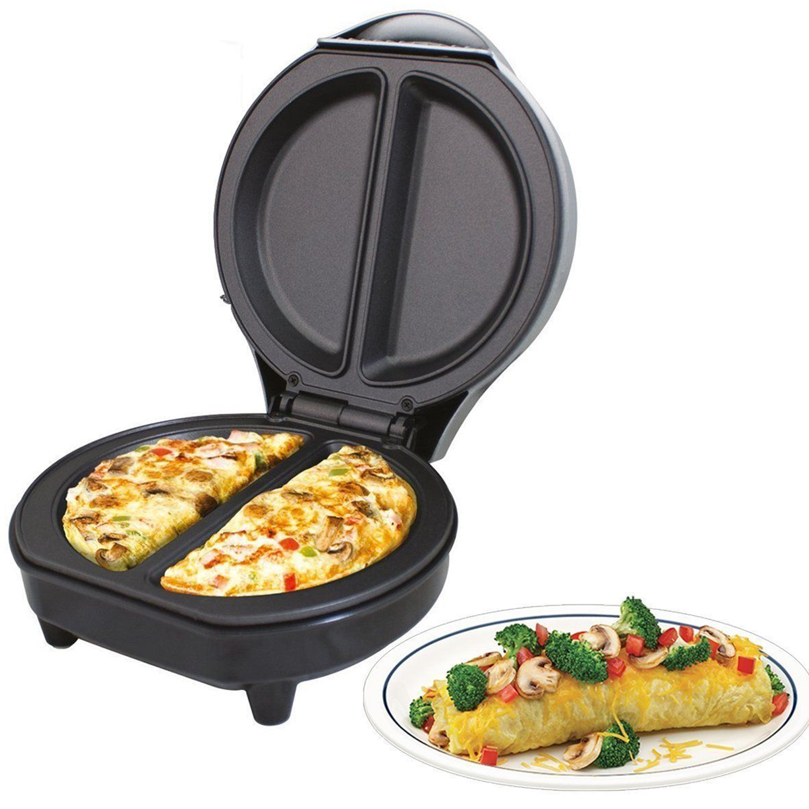 Space Saving Kitchen Gadgets New Electric Omelette Maker Waffle Maker Pancake Crepe