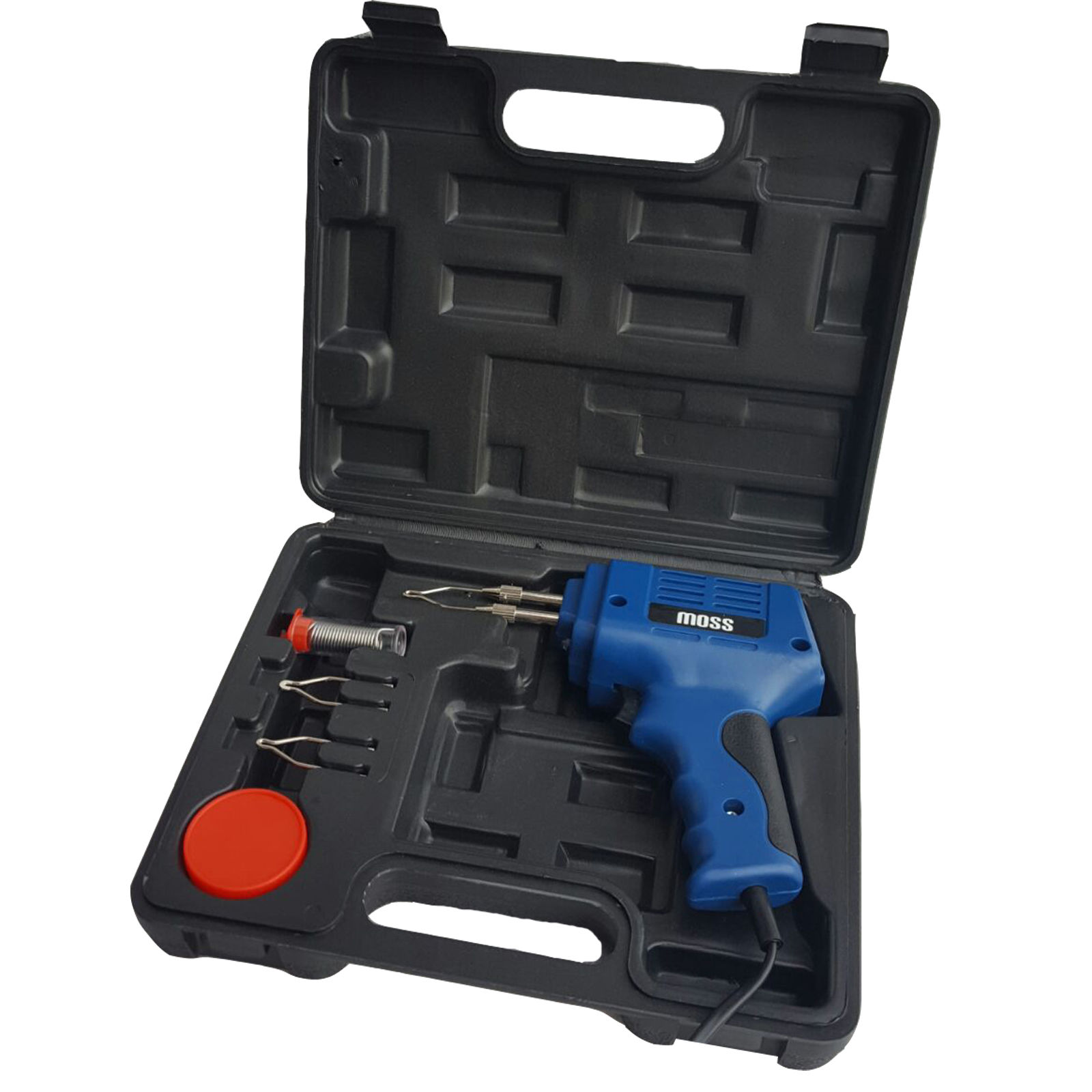 175W ELECTRIC ELECTRICAL SOLDER SOLDERING IRON GUN KIT 230V