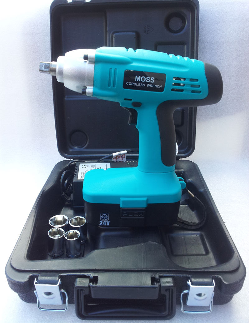"High Torque 24v 1/2"" Drive cordless impact wrench"